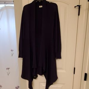 Cato Woman Long Open Front Cardigan
